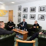 PRESIDENT RADEV (BULGARIA) VISIT TO ALLIED MARITIME COMMAND